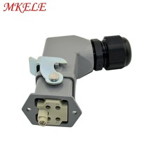 MK-HA-004-1 High Quality 4 Pin 10A 250V HA Series Heavy Duty Connector Heavy Duty Connector Block Automotive Connectors hdd 216 10a 216 pins car styling heavy duty connector industrial multipole