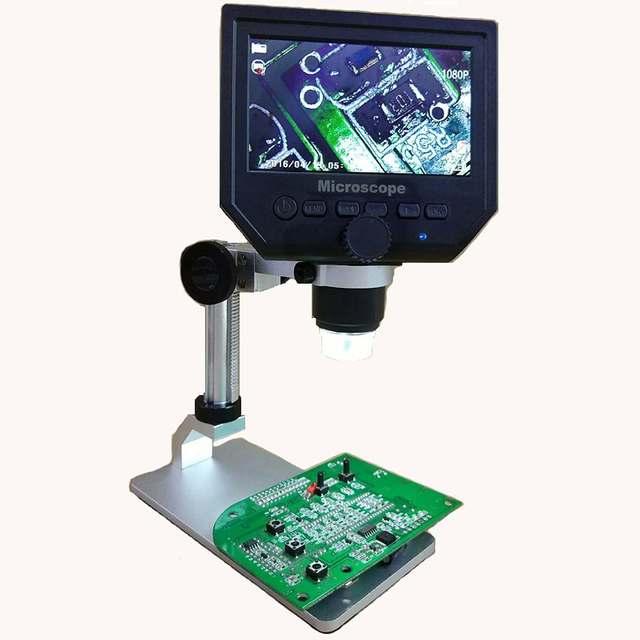 3.6MP G600 Digital 600X 4.3inch HD LCD Display Microscope 2