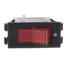 10 Pcs x Red Neon Light Lamp On/Off SPST Boat Rocker Switch 15A/250V 20A/125V AC mounting hole 28mm x 21mm red light dpst on off snap in boat rocker switch 15a 250v 20a 125v ac 29x21mm discount 70