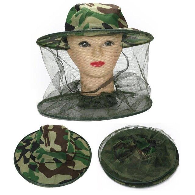 חיצוני כובע דיג כובע הסוואה כוורות גזה כובעי נגד יתושים כובעי קיץ שמש הגנת כובע דיג כובעים
