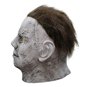 Image 4 - Horror Movie Halloween Horror Michael Myers Mask Carnival Cosplay Adult Latex Full Face Helmet Halloween Party Scary Props