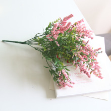 Simulated Lavender Bouquet Flower Fittings DIY Decorated Single Plastic Arrangement