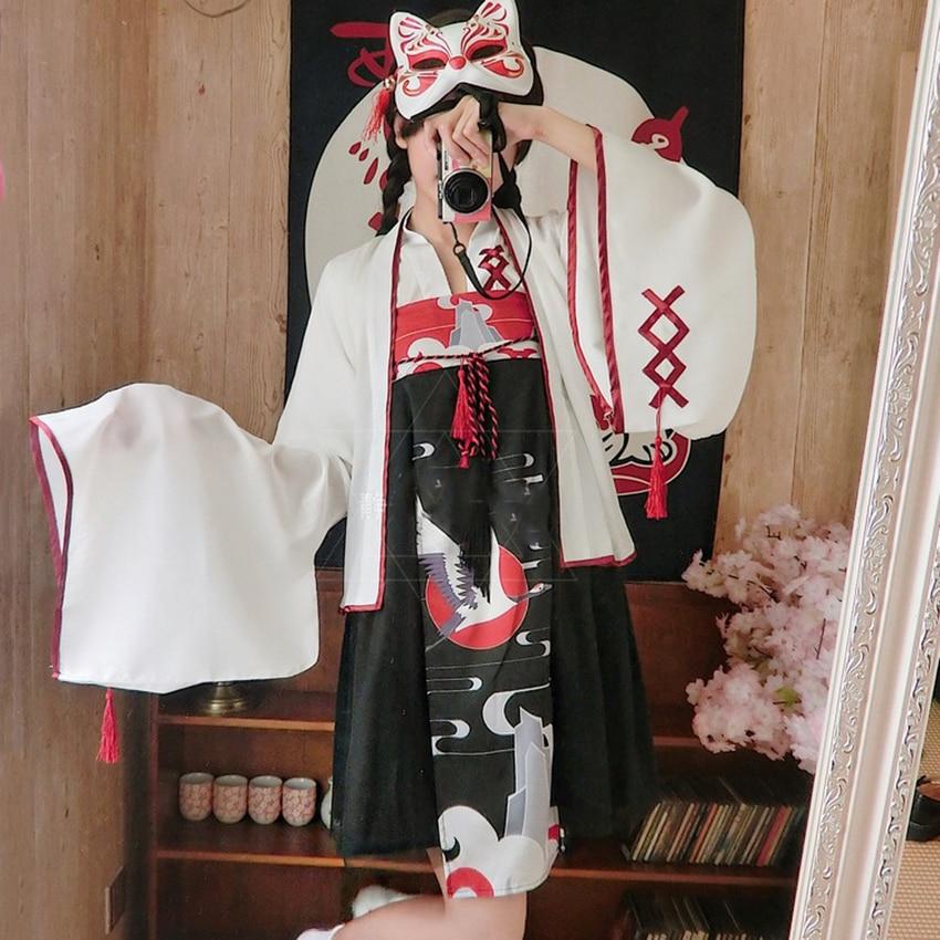 Kimono Japanese Kawaii Girls Style Kimono 2019 News Traditional Dress For Women Clothing Vintage Party Yukata Vestidos Cardigan