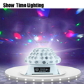 SHOW TIME LED Crystal Magic UFO licht 4 ogen afbeelding magic light Professionele voor Home entertainment KTV DJ Party Disco sing dance