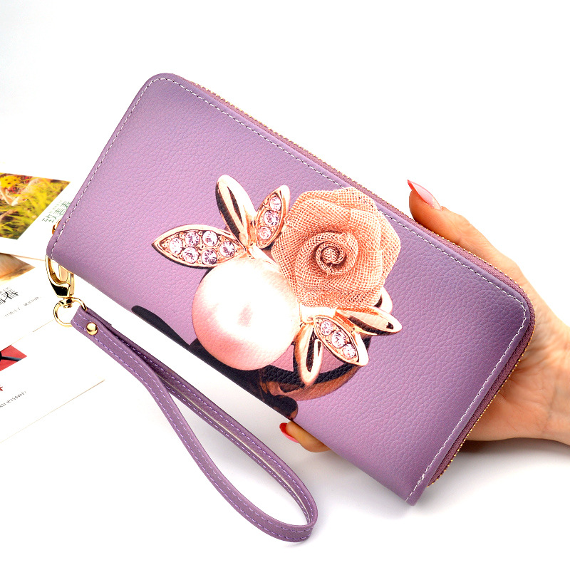 Womens Wallets 2019 New Handbag Lady Purse Female Long Print Purses Large Capacity Leather Wallet Women Zipper Money Bag CarteraWomens Wallets 2019 New Handbag Lady Purse Female Long Print Purses Large Capacity Leather Wallet Women Zipper Money Bag Cartera