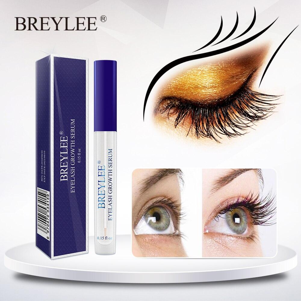 BREYLEE rzęsy szybki wzrost Serum odżywka do rzęs rzęsy leczenie płyn dłuższy pełniejszy grubszy makijaż rzęs pielęgnacja oczu