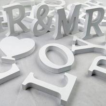 Абсолютно креативные буквы алфавит слово Свадебные украшения для дома для рождественского фестиваля