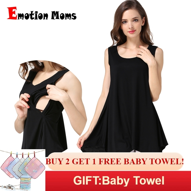 Emotion Moms Summer Maternity clothes nursing Vest Nursing Top Breastfeeding Tank tops For Pregnant Women maternity tops M-XXL