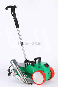 Soldador de banner de máquina de soldadura automática de PVC/plástico con pistola de aire caliente Suiza