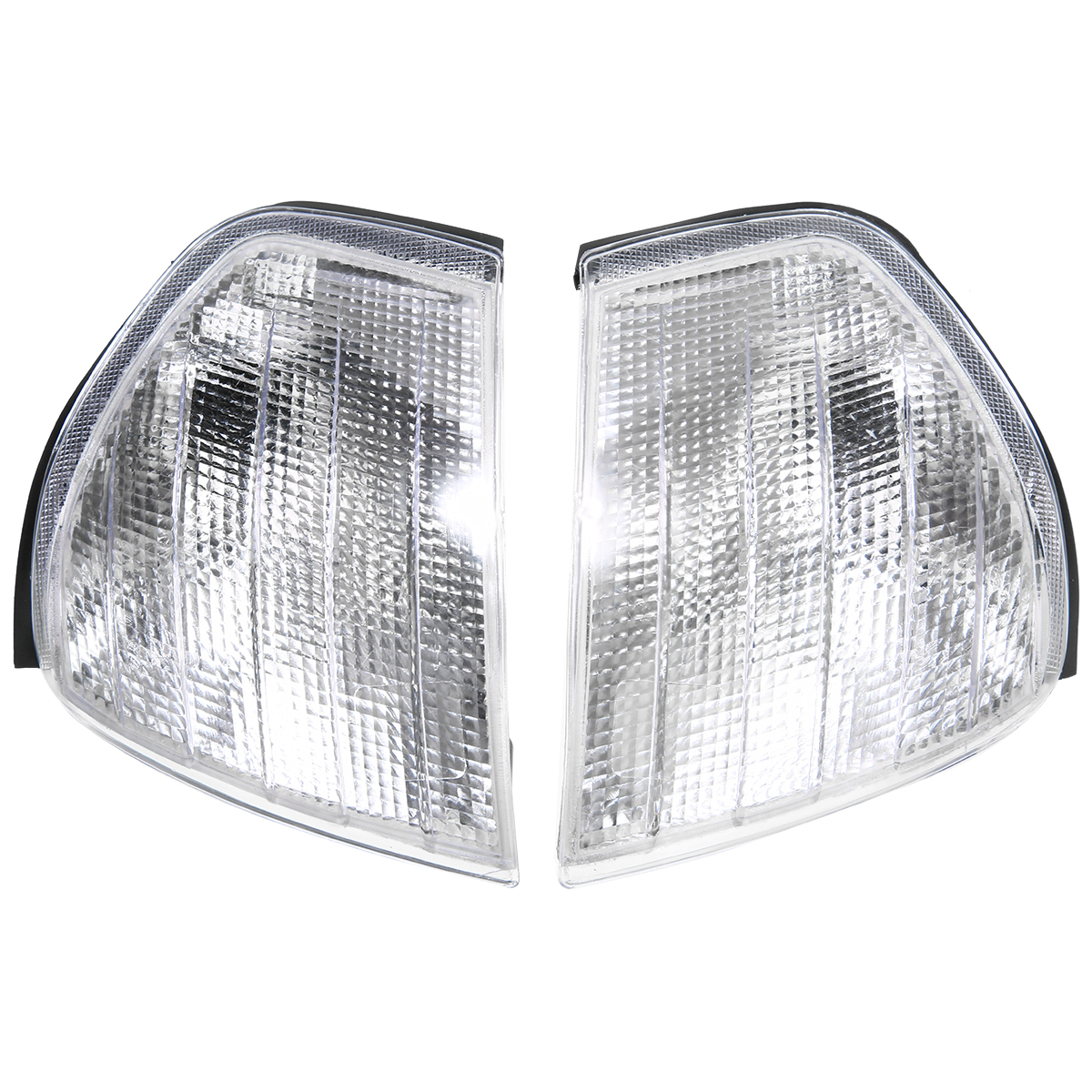 Image 5 - For Mercedes Benz C Class W202 1994 2000 1 Pair Clear Lens Turn Signal Corner Light Lamp Car Styling-in Signal Lamp from Automobiles & Motorcycles