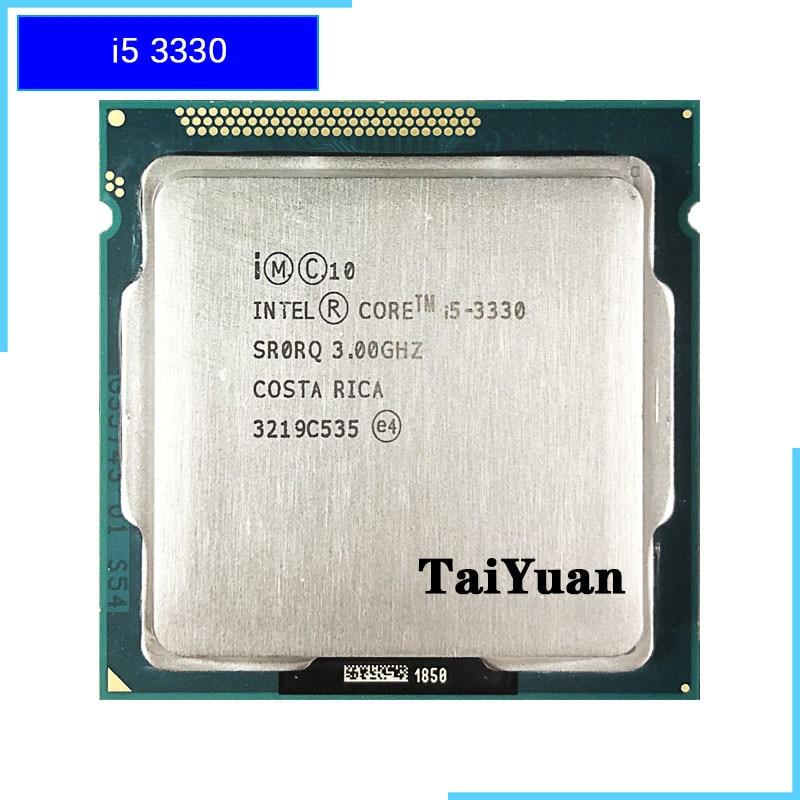 Intel Core i5 3330 i5 3330 3 0 GHz Quad Core CPU Processor 6M 77W LGA