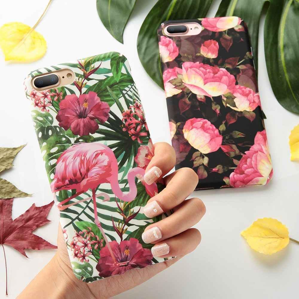 BEIJOS Case For Samsung Galaxy S8 S9 Plus S7 Nota 9 8 folhas Tropicais Case Para Samsung A3 A5 A7 j3 J5 2017 A6 A8 J6 J8 Plus