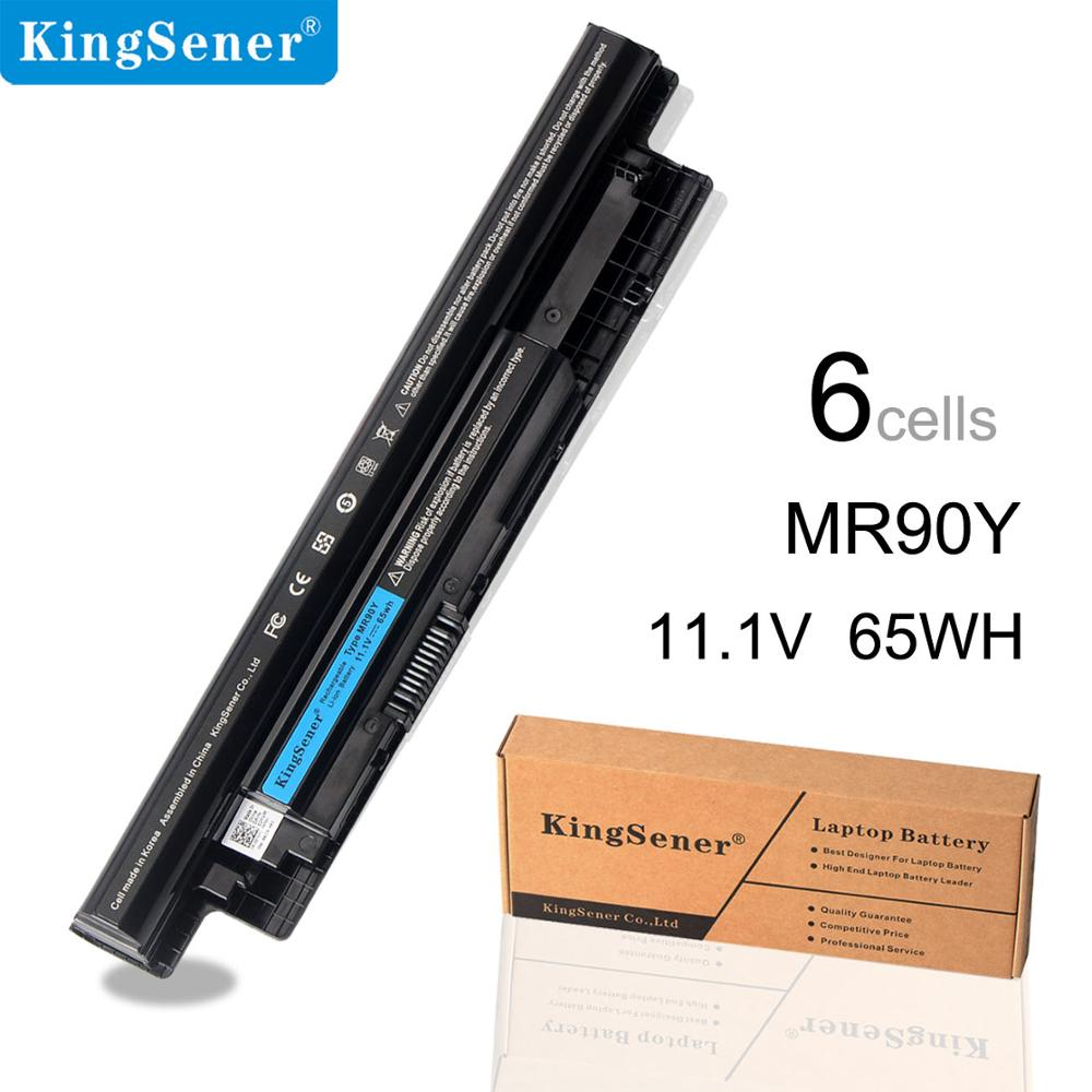 KingSener MR90Y Laptop <font><b>Batterie</b></font> für <font><b>DELL</b></font> <font><b>Inspiron</b></font> 3421 <font><b>3721</b></font> 5421 5521 5721 3521 3437 5537 Vostro 14-3449 2421 2521 XCMRD 6000 mAh image