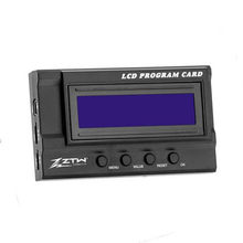 ZTW LCD Program Card for Seal Gecko Series Rc Boat Brushless Electronic Speed Control(China)