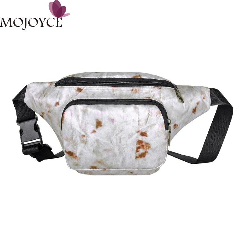 Ladies Canvas Waist Packs Chest Bags Street Sport Women Casual Fanny Girl Fashion Phone Female Belt Bag Travelling Phone Pouch
