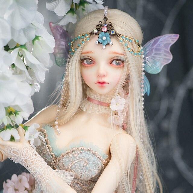 新到着Feeple60キャロル人形bjd 1/3ファンタスティックsd女性白鳥妖精おもちゃ女の子のユニークな誕生日ギフトおとぎの国oueneifs