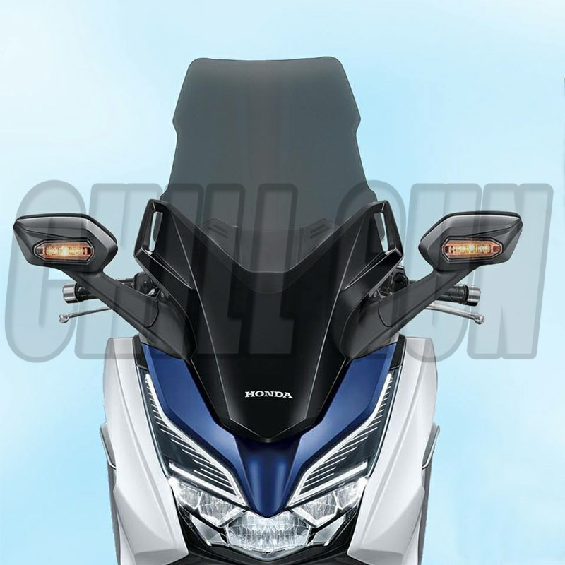 Motorcycle Accessories WindScreen Windshield W Deflector Viser VIsor Fits For HONDA FORZA300 2018 FORZA 300 18' Forza-300