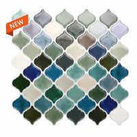 Lantern Arabic Moroccan Tile Self-adhesive Back Baffle 3D Mosaic Wallpaper Ethylene Bathroom DIY Decoration