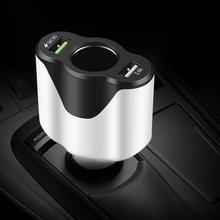 AOZBZ fm-передатчик Быстрая зарядка 3,0 Автомобильное USB быстрое зарядное устройство для мобильного телефона iPhone X 8 зарядное устройство для huawei Xiaomi Зарядка телефона
