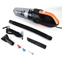 4 in 1 Digital Car Portable Vacuum Cleaner Air Pump Tire Pressure Monitoring Wet Dry Dust Catch auto accessorie
