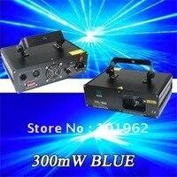 Dj оборудование 300 МВт 405 нм Синий диско лазерное освещение