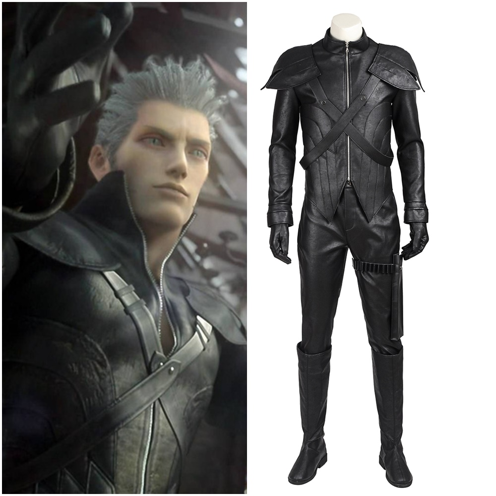 Final Fantasy VII Advent Children Loz Cosplay Costume Halloween Outfit