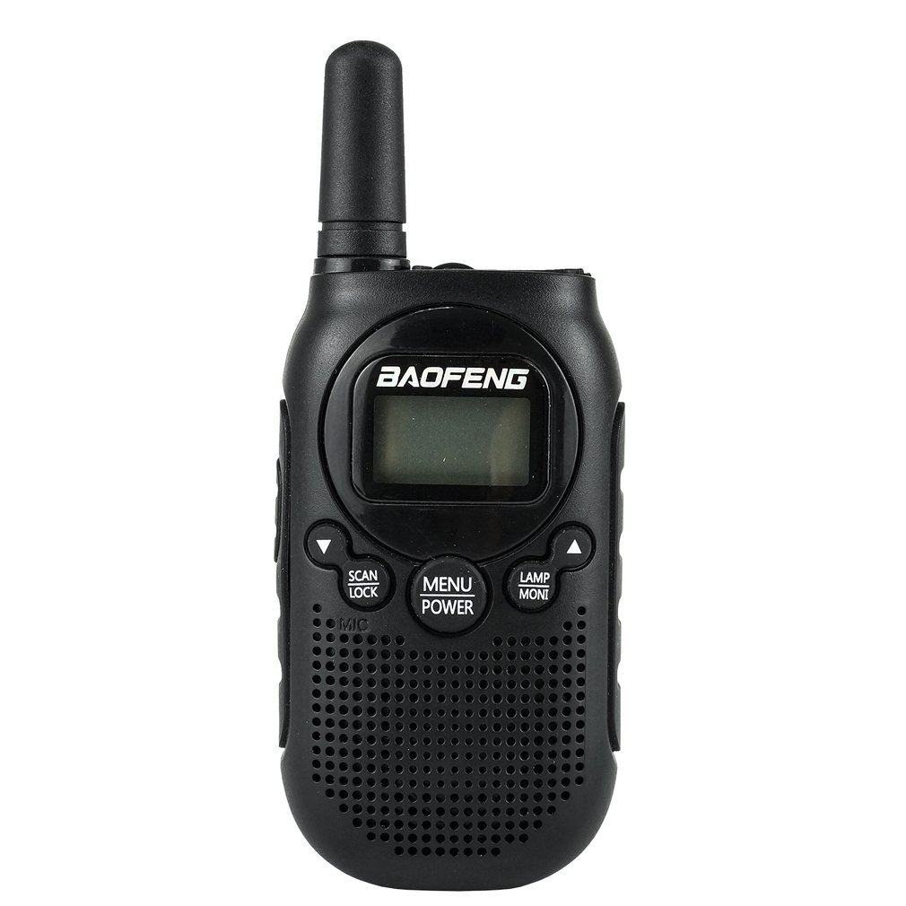 BAOFENG Portable Walkie Talkie Radio Transceiver Radio Station Communicator Walkie-Talkie LCD Background Lighting