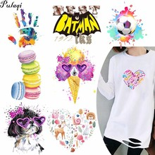 Pulaqi New Bee Football Heat Transfer Cat Patch For Anime Clothing T - Shirt Printed Animal Environmental Protection Diy H