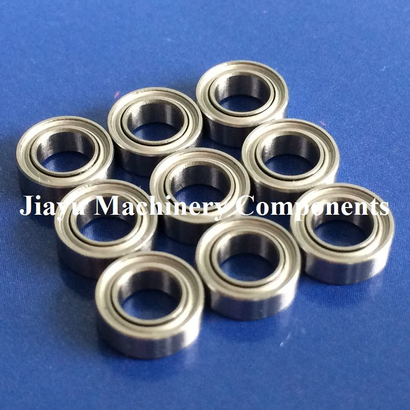 Free Shipping 10 PCS SMR74ZZ Bearings 4x7x2.5 Mm Stainless Steel Ball Bearings DDL-740ZZ