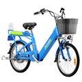 Электрический скутер с сидением  два колеса  электровелосипед 48 в 240 Вт  электровелосипед с usb-портом для зарядки  электрический велосипед дл...