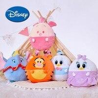 Disney Cartoon Daisy Donald Duck Piglet Children Stuffed And Peluche Backpack Travel Bag Plush Soft Dolls