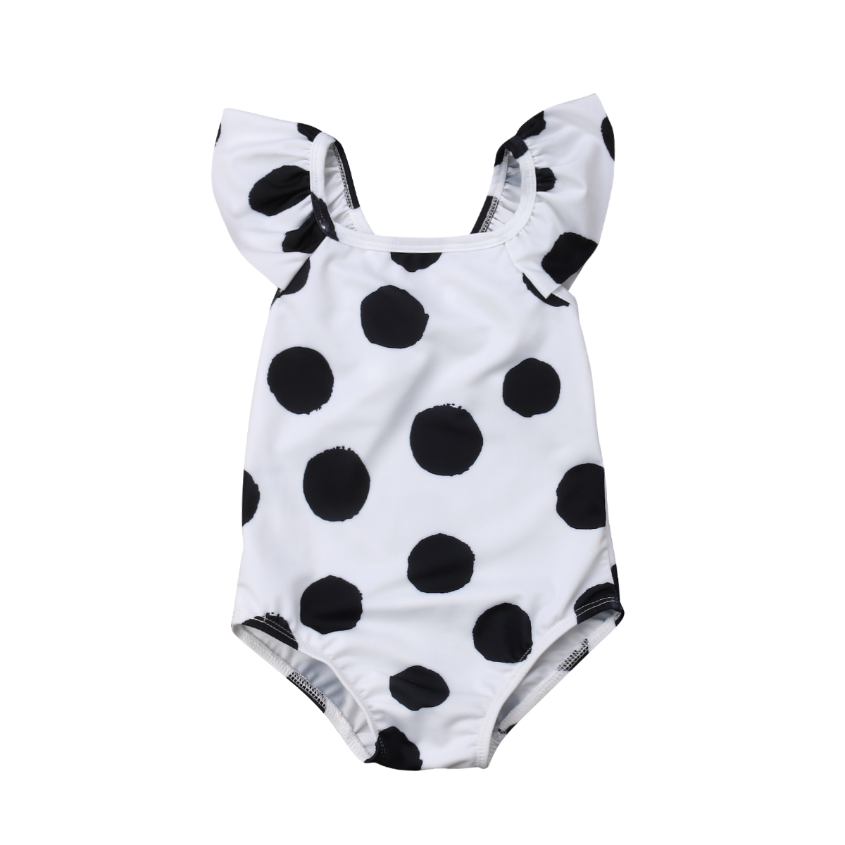 234cc130aae9f 2019 New Brand Toddler Kids Baby Girls One-piece Polka Dot Tankini Bikini  Swimwear Swimsuit