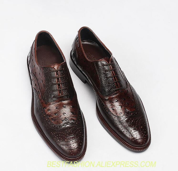 Перфорацией модельные туфли для мужчин на шнуровке разноцветные плиссированные Натуральная кожа Мокасины лоскутное дышащий Жених красивы