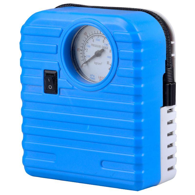 12V Portable Mini Emergency Auto Tyre Inflatable Pump High Pressure Tire Inflator Air Compressor