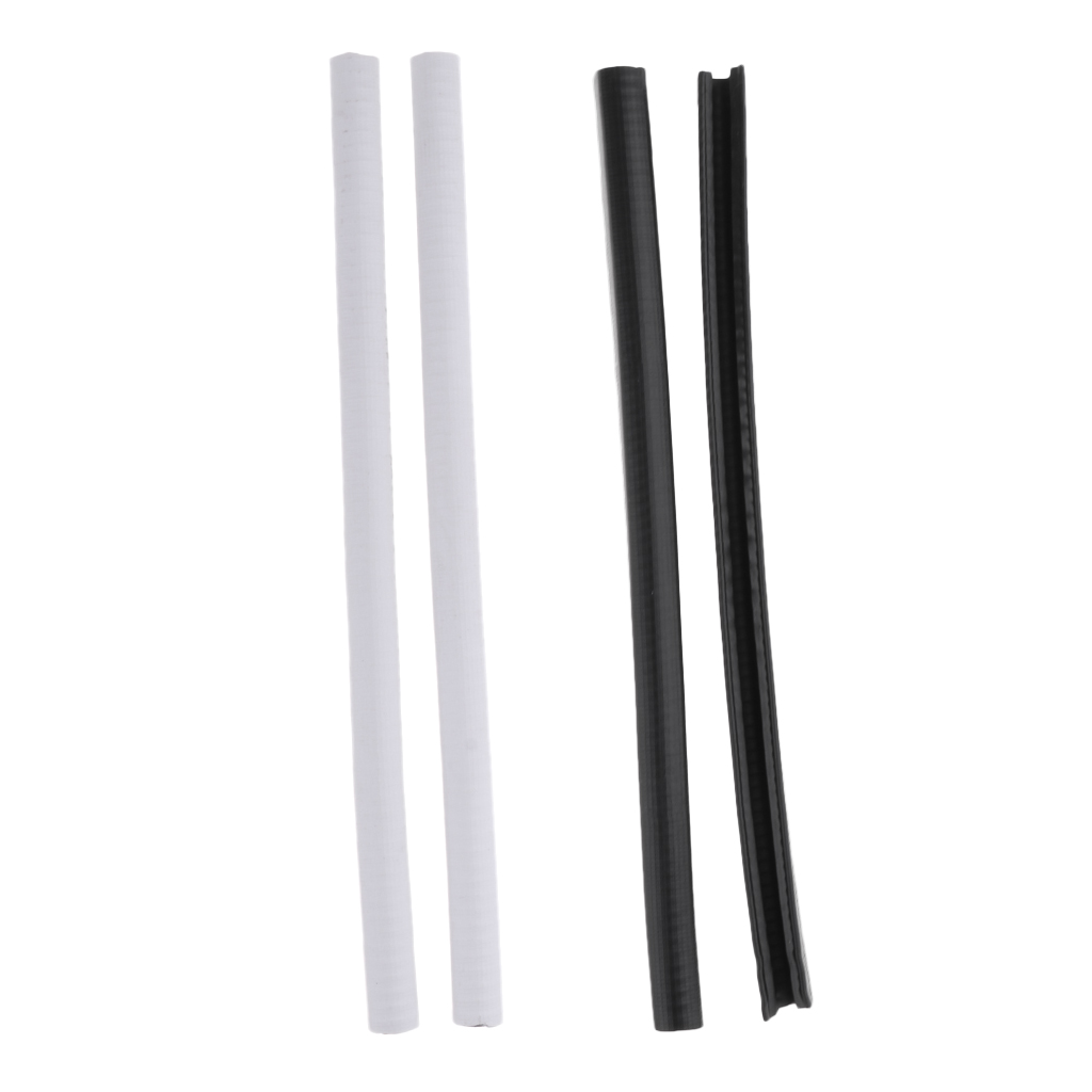 2pcs Rubber Longboard Skateboard Deck Protector Strip Nose Guard Tail Guard Outdoor Sports Small Tools