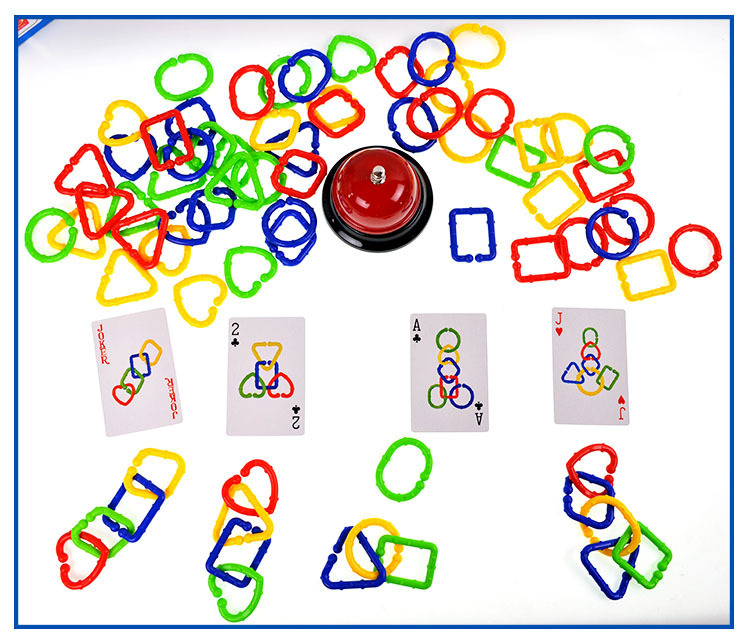 Puzzle 3D jouets pour enfants anneau pour tirer les jouets de jeu de cerveau manuel