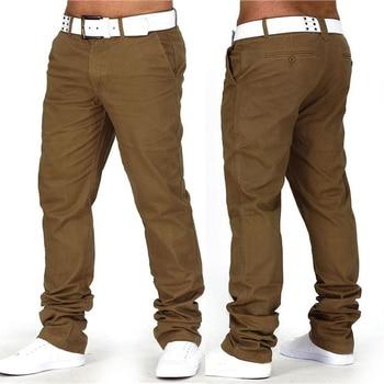 la mejor actitud cc2f2 e7e5b INCERUN 2019 pantalones lisos hombres pantalones casuales pantalones  Joggers Slim Fit Hombre Pantalones Chinos Moda Hombre ropa Pantalon Hombre  40