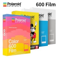 Polaroid Originals Instant 600 Film Color Black White For Onestep2 Instax Camera SLR680 636 637 640 650 660 Autofocus Impossible
