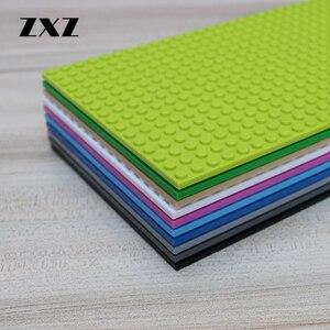Image 5 - 10 kolory podwójne boki 16*32 punktów DIY klocki płyta podstawowa kompatybilny Action Figures dla dziecka zabawki MOC akcesoria 5 sztuk/partia
