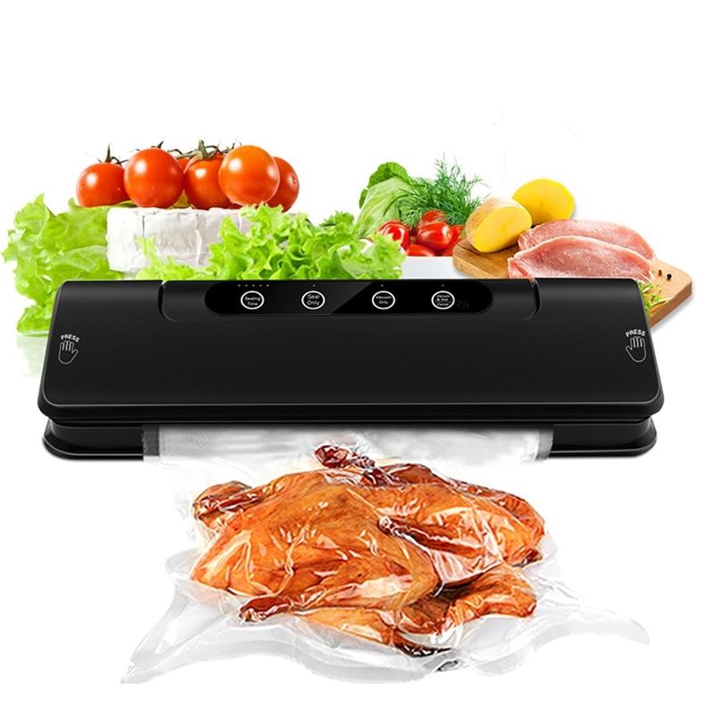 Household Vacuum Packer Food Vacuum Sealer Multi-Function Automatic Vacuum Sealing Packing Machine Free 15Pc Bags Eu Plug