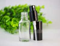 10ml 15ml 20ml 30ml 50ml 100ml Clear Glass Refillable Perfume Bottle With Atomizer Empty Cosmetic Containers With Spray In Stock