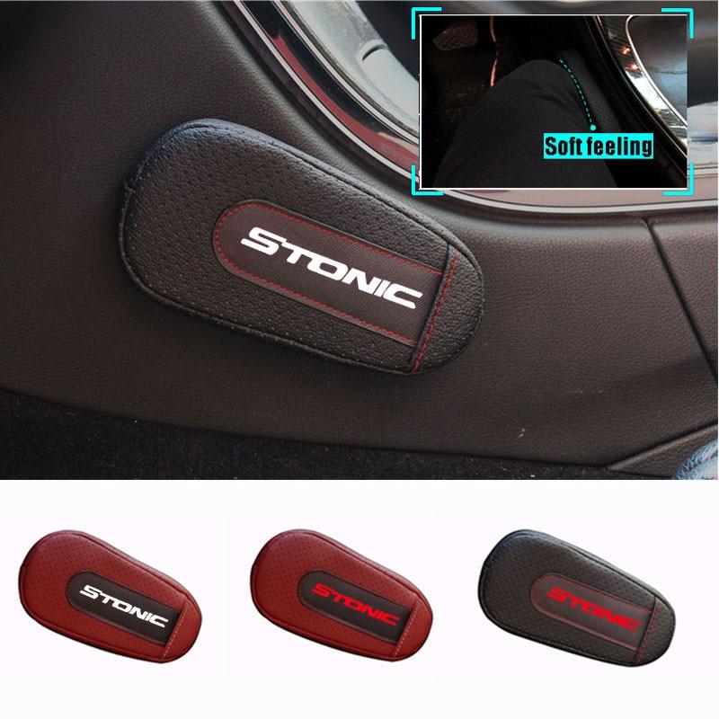 Stylish And Comfortable Leg Cushion Knee Pad Armrest Pad Interior Car Accessories For Kia Stonic