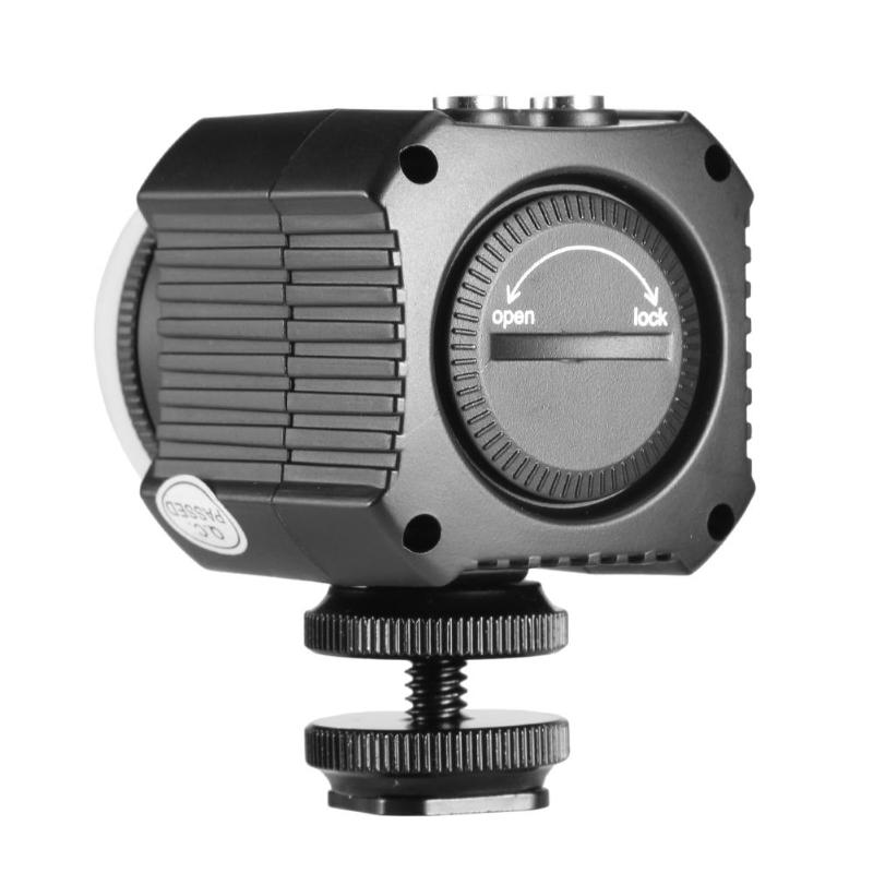 ALLOET Photographic Lighting IPX8 Waterproof Camera LED Photo Video Fill Light Lamp 60M Underwater Diving Photography