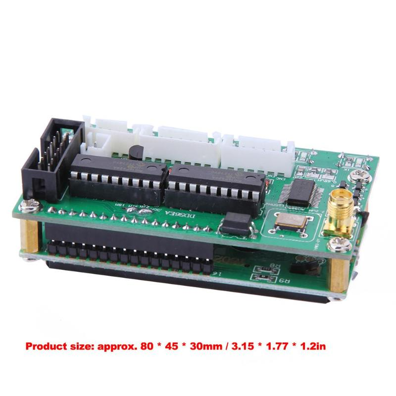 Image 5 - DC 8V 9V AD9850 6 Bands 0 55MHz Frequency LCD DDS Signal Generator Digital Module Signal Generators-in Signal Generators from Tools