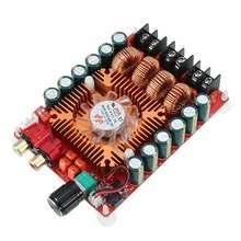 LEORY TDA7498E 2*160W 전력 증폭기 듀얼 채널 스테레오 오디오 증폭기 모듈 BTL 모드 지원