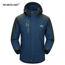 THE ARCTIC LIGHT Camping Hiking Jacket Men Autumn Outdoor Sports Coats Climbing Trekking Windbreaker Fishing Waterproof Jackets