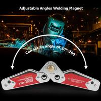 Adjustable Magnets Welding Locator Magnetic Holder Welding Fixture Corner Right Angle Clamp Welding & Soldering Supplies