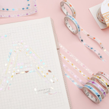 4 шт. Милая бронзовая васи лента Kawaii Мини маскирующая лента декоративная клейкая лента для детей DIY Скрапбукинг дневник Альбомы для фото