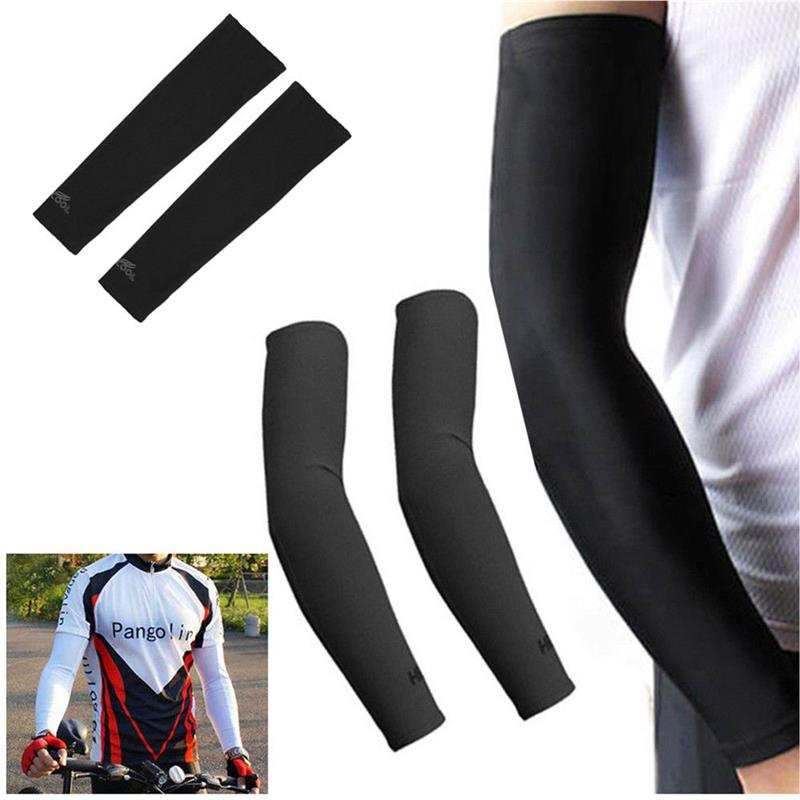 Ice Silk Anti UV Sun Protective Arm Raglan Sleeves Sports Gloves For Man Woman