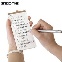 Купить с кэшбэком EZONE Kraft Cover Memo Pad Portable Notebook Line/Grid Page/To Do List Notepad Stationery Office Blotter Students Words Book